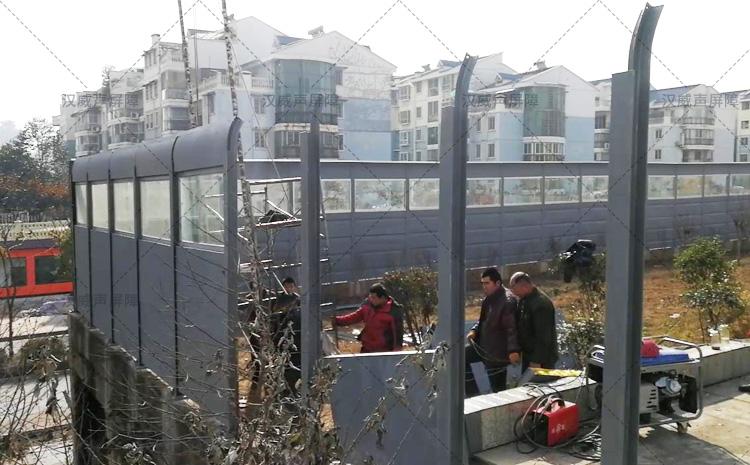 湖南衡阳铜钱渡大桥声屏障案例