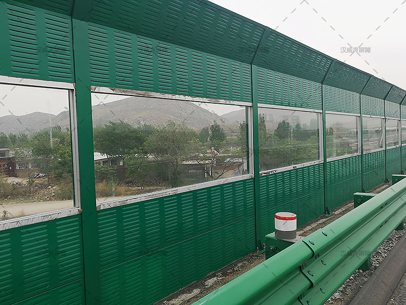 石家庄井陉高速声屏障案例